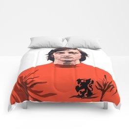 Cruyff - Holland player Comforters