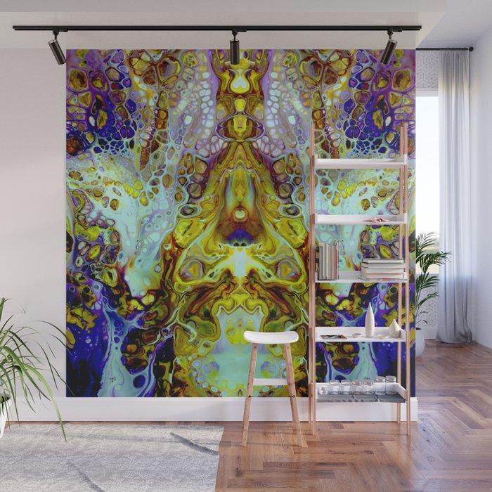 mirror 11 Wall Mural