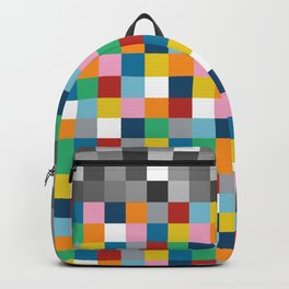 Colour Block with Topper #2 Backpack