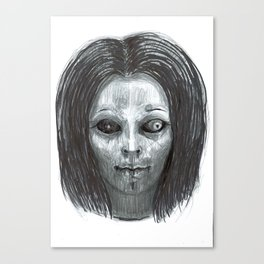 From the Ghoul Closet Canvas Print