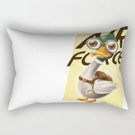 Corporal Duck Rectangular Pillow