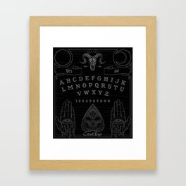 OUIJA Framed Art Print