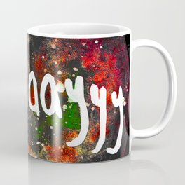 Scullayyy Red & Orange Nebula Coffee Mug