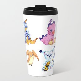 Digimon Group Travel Mug