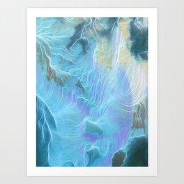 Ice Water Art Print