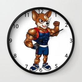 Strong chihuahua. Wall Clock