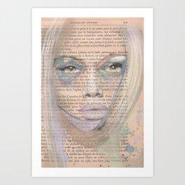 Nouvelles œuvres Art Print