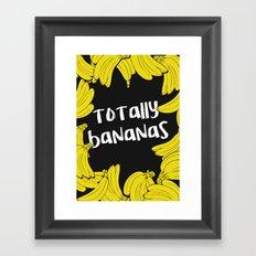 TOTALLY BANANAS II Framed Art Print