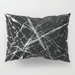Silver Splatter 090 Pillow Sham