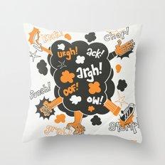 Gratuitous Violence! Throw Pillow