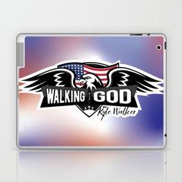 WWGKW Logo - Red, White & Blue Laptop & iPad Skin