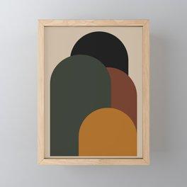 Minimal Arches VIII Framed Mini Art Print