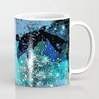 koi Mugs featuring Koi  by Saundra Myles