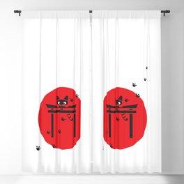 Curious Tanuki Blackout Curtain