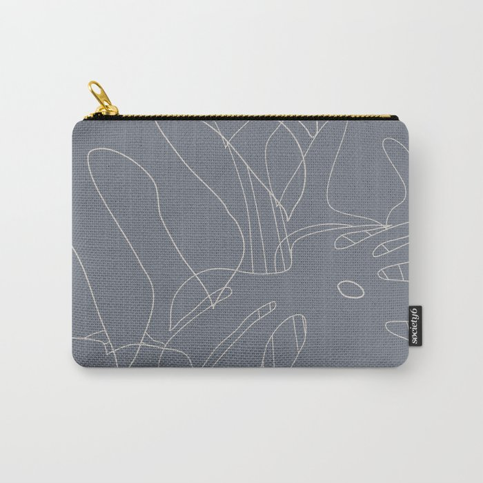 Monstera No2 Gray Edition Carry-All Pouch