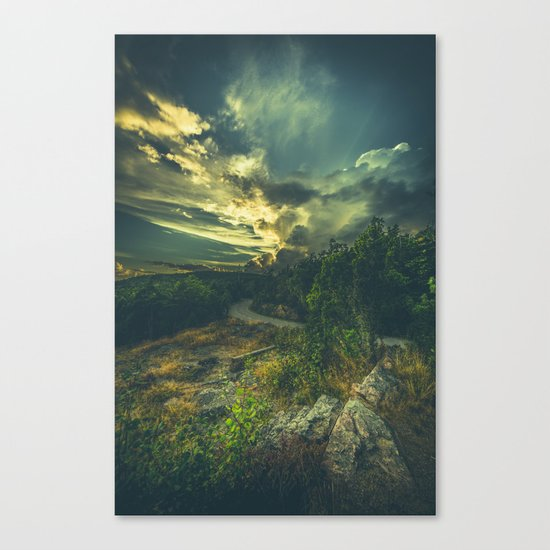 Road to oblivion Canvas Print