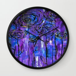 Garden Delights Wall Clock