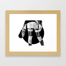 Fetish Cyamese Framed Art Print