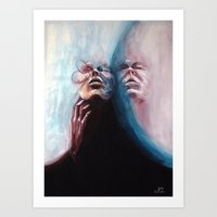 Seeing Double: Submerge Art Print