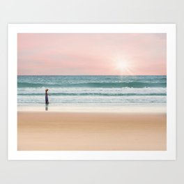 Sand, Sea, and Sky Art Print