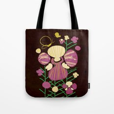 Floral Flower Artprint Tote Bag