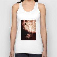 dandelion Tank Tops featuring dandelion by Ingrid Beddoes