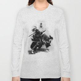 Taiko - Dance of the swords Long Sleeve T-shirt