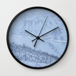 Winter bliss Wall Clock