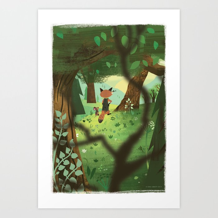 A Good Place To Start Art Print