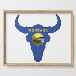Montana Bison Serving Tray