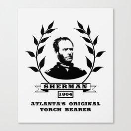 General Sherman - Atlanta's Original Torch Bearer Canvas Print