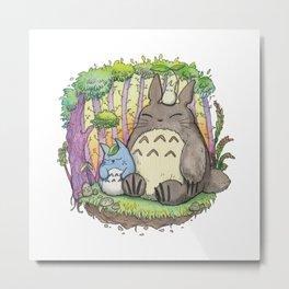 Miyazaki Tonari no Toto ro トトロ ghibli Metal Print