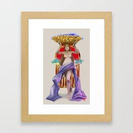Labandera Framed Art Print
