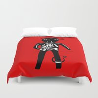 body Duvet Covers featuring body by sandra sisofo