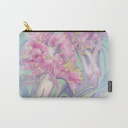 Flower Heads Carry-All Pouch