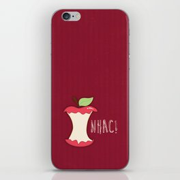 A apple a day... iPhone Skin