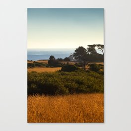 Lighthouse From Afar Canvas Print