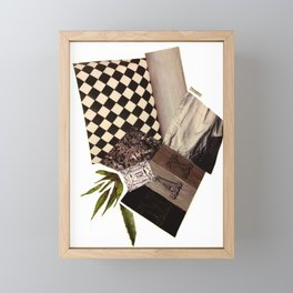 Thoughts Framed Mini Art Print
