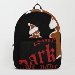Christmas ginger bread Backpack