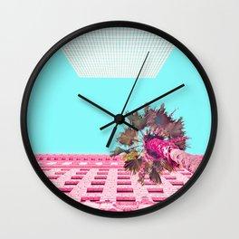 LA Palm Tree Look Up Wall Clock