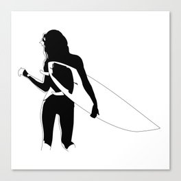 Surf Chick Canvas Print