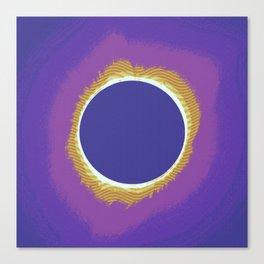 Solar eclipse Poster 3 Canvas Print