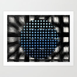 Remember The View Art Print
