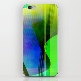 Multicolored abstract 2016 / 006 iPhone Skin