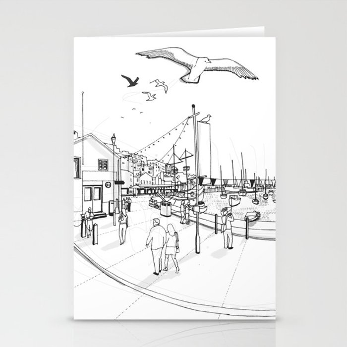 Brixham Stationery Cards