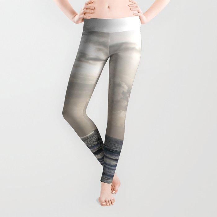 Silver Scene Leggings