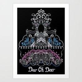 Dear Oh Deer Art Print