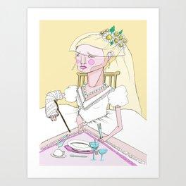 Domestic Superstition /Nika/ Art Print