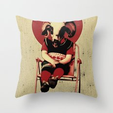 SIT TIGHT Throw Pillow