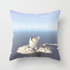 Egg Island Throw Pillow